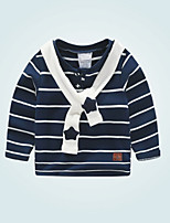 cheap -Kids Boys' Active Striped Long Sleeve Blouse