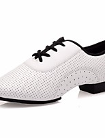 cheap -Women's Modern Shoes Other Animal Skin Oxford Performance / Practice Low Heel Dance Shoes White