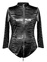 baratos -Mulheres Corpete Roupa de Noite - Estampado, Sólido Leopardo