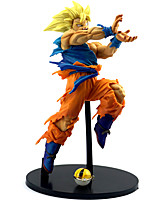 cheap -Anime Action Figures Inspired by Dragon Ball Son Goku PVC 22cm CM Model Toys Doll Toy