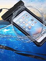 preiswerte -Hülle Für Apple iPhone 6 / iPhone 7 Geldbeutel / Wasserdicht / Wasserfest Handytasche Solide Weich ABS + PC für iPhone X / iPhone 8 Plus