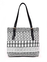 cheap -Women's Bags PU Shoulder Bag Hollow-out White / Black