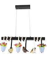 Недорогие -3-Light Для кухонного острова Люстры и лампы Потолочный светильник - Матовая, Мини, 110-120Вольт / 220-240Вольт, Теплый белый, Лампочки