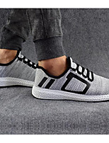 cheap -Men's Shoes Canvas Spring / Fall Comfort Sneakers Black / Gray