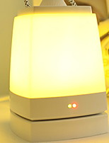 cheap -1pc Lightbox LED Night Light Warm White USB Bluetooth / Remote Controlled / Rechargeable <5V