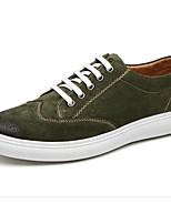economico -Per uomo Scarpe Similpelle Autunno Comoda Sneakers Nero / Giallo / Verde