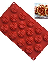 Недорогие -Инструменты для выпечки Силикон Креатив / Своими руками Хлеб / Печенье / Вафельная ткань Формы для пирожных 1шт