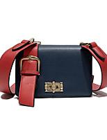 cheap -Women's Bags PU Shoulder Bag Buttons Blue / White
