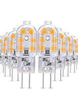 preiswerte -YWXLIGHT® 10 Stück 3W 200-300lm G4 LED Doppel-Pin Leuchten T 12 LED-Perlen SMD 2835 Warmes Weiß / Kühles Weiß / Natürliches Weiß 12V