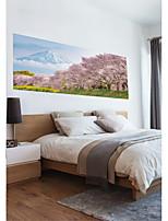 abordables -Autocollants muraux décoratifs / Autocollants de porte - Autocollants avion / Autocollants muraux 3D Abstrait / Paysage Salle de séjour /