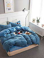 cheap -Duvet Cover Sets Cartoon Polyster Quilted 4 Piece