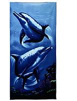 abordables -Qualité supérieure Drap de plage, Animal / Nature & Paysages Polyester / Coton 1 pcs