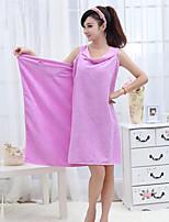 abordables -Qualité supérieure Serviette de bain, Couleur Pleine Mélangé polyester / coton Salle de  Bain 1 pcs