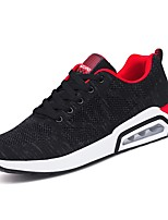 cheap -Men's Shoes Knit Summer Comfort / Light Soles Sneakers Black / Blue / Black / Red