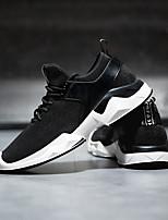 cheap -Men's Shoes Mesh Spring Comfort Sneakers Black / Gray