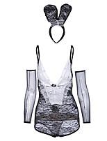 economico -Per donna Completi / Uniformi e abiti tradizionali cinesi Indumenti da notte - Incrociato dietro, Monocolore