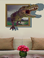 Недорогие -Декоративные наклейки на стены / Наклейки на холодильник - Простые наклейки / 3D наклейки Пейзаж / 3D Спальня / В помещении