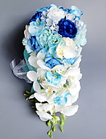 cheap -Artificial Flowers 1 Branch Wedding / Wedding Flowers Roses Tabletop Flower