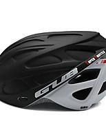 abordables -GUB® Adultos Casco de bicicleta 6 Ventoleras CE / CPSC Certificación Resistente a Golpes Ciclismo / Bicicleta - Negro / Rojo