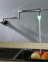 cheap -Kitchen faucet - Contemporary Chrome Pot Filler Wall Mounted
