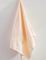 abordables -Qualité supérieure Serviette de bain / Serviette, Couleur Pleine Polyester / Coton Salle de  Bain