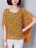 preiswerte -Damen Geometrisch Bluse