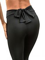 abordables -Femme Collants de Course Des sports Collants Tenues de Sport Yoga, Séchage rapide, Haute élasticité Elastique