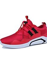 economico -Per uomo Scarpe Sintetico Estate Comoda / Suole leggere Sneakers Rosso / Bianco / nero