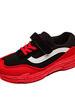 cheap -Girls' Shoes Tulle Spring & Summer Comfort Sneakers for Black / Red / Pink