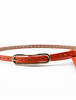 cheap -Women's Party Skinny Belt - Solid Colored