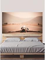 baratos -Autocolantes de Parede Decorativos / Porta Adesivos - Autocolantes de Aviões para Parede / Autocolantes 3D para Parede Abstrato / Paisagem