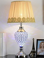 cheap -Simple Decorative Table Lamp For Living Room / Bedroom Ceramic White / Yellow