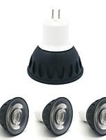 Недорогие -ZDM® 4шт 4W 1 светодиоды Точечное LED освещение Тёплый белый Холодный белый Естественный белый 110-120V 220-240V Деловой Дом / офис