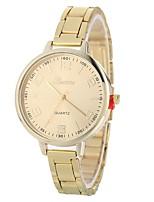 Недорогие -Xu™ Жен. Кварцевый Наручные часы Китайский Повседневные часы сплав Группа Творчество На каждый день Серебристый металл Золотистый Розовое