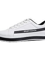 economico -Per uomo Scarpe A rete / PU (Poliuretano) Autunno Suole leggere Sneakers Nero / Grigio / Rosso