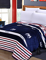 cheap -Coral fleece, Printed Geometric Polyester Blankets