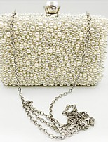 cheap -Women's Bags Pearl Evening Bag Pearls for Event / Party Beige