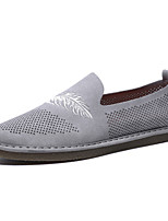 cheap -Men's Shoes Suede Summer Comfort Loafers & Slip-Ons Beige / Gray / Khaki
