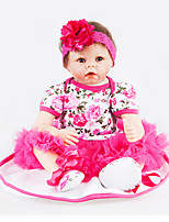 cheap -NPKCOLLECTION Reborn Doll 22 inch Full Body Silicone Kid's Unisex Gift