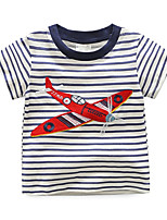cheap -Kids / Toddler Boys' Striped Short Sleeve Tee