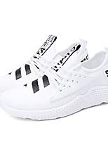 economico -Per uomo Scarpe A maglia Estate Comoda / Suole leggere Sneakers Bianco / Nero / Rosso