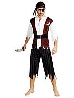 abordables -Pirates of the Caribbean Accesorios Hombre Halloween / Carnaval / Dia de los Muertos Festival / Celebración Disfraces de Halloween Café