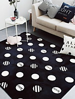 cheap -Doormats / Area Rugs Geometric Pattern / Modern Polyster, Rectangular Superior Quality Rug