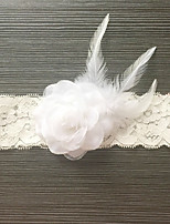 cheap -Lace Classic Jewelry / Vintage Style Wedding Garter 617 Floral / Gore Garters Wedding / Party & Evening