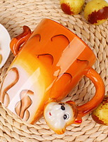 cheap -Drinkware Porcelain Mug Cartoon / Heat-Insulated / Cute 1 pcs