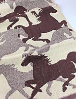 abordables -Qualité supérieure Serviette, Géométrique Polyester / Coton Salle de  Bain