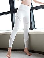 abordables -Femme Collants / Leggings - Des sports Yoga, Exercice & Fitness, Gymnastique Séchage rapide, Respirabilité, Douceur Haute élasticité