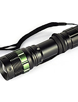 cheap -LED Flashlights / Torch / Handheld Flashlights / Torch 900lm 1 Mode Portable / Wearproof / Lightweight Camping / Hiking / Caving / Hunting