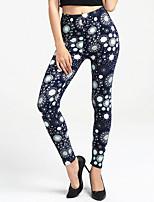 cheap -Women's Daily Sporty Legging - Polka Dot High Waist