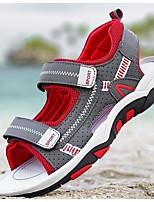 abordables -Garçon Chaussures Similicuir Eté Confort Sandales pour De plein air Rouge Vert Bleu